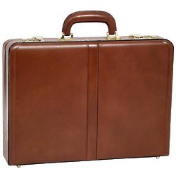 Reagan Leather Attache Case