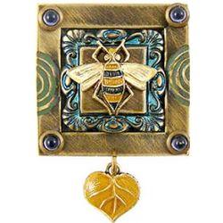 Honey Bee Homage Pin