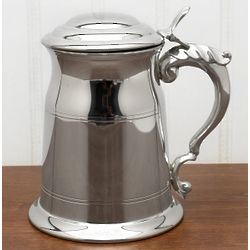 Hampshire Pewter Tankard with See-Through Bottom