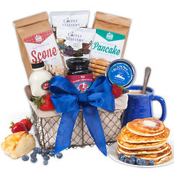 Parent's Gourmet Breakfast Gift Basket