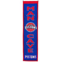 Detroit Pistons Man Cave Banner