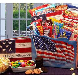 American Pride Snack Gift Box