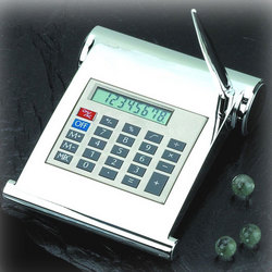Bey Berk Silver Desk Calculator