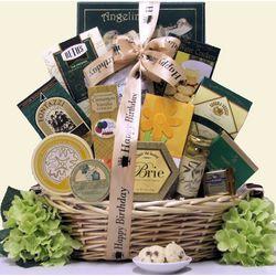 Warm Wishes Gourmet Birthday Gift Basket