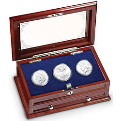 Three Centuries of US Silver Dollars Coin Set