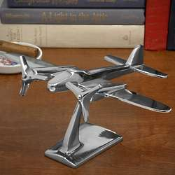 Flying High Airplane Table Statue