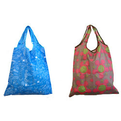 Printed Reusable Shopping Tote Bag
