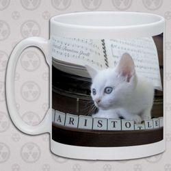 Aristotle Cat Mug