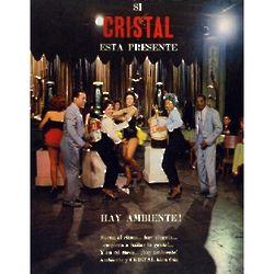 Cerveza Cristal Vintage Cuban Ad Poster