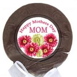Happy Mother's Day Mom Chocolate Lollipop