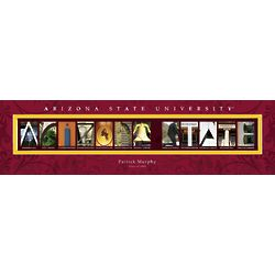Personalized Arizona State University Architecture Print