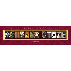 Personalized Arizona State University Architecture Print