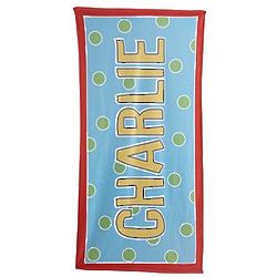 Personalized Kid's Name Micro-Fiber Beach Towel