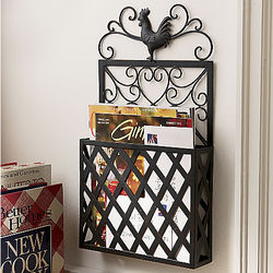 Rooster Wall Organizer
