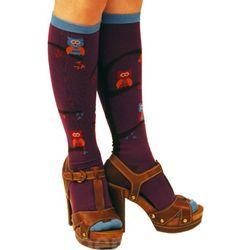 Tree Owl Knee Socks