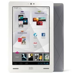 Kobo Arc 16GB White Android High-Definition Tablet