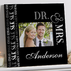 We Said I Do 5x7 Personalized Wall Frame