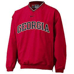 Georgia Bulldogs Red Classic Windshirt