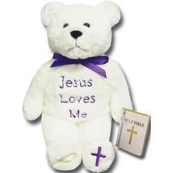 Jesus Loves Me Bear