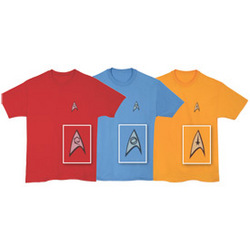 Star Trek Uniform Tee
