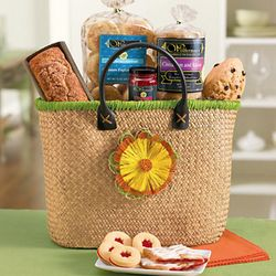 Bright Spring Breakfast Tote Gift Basket