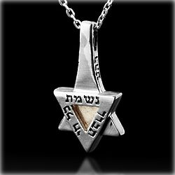 Star of David Pendant for Blessing and Spiritual Growth