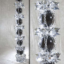 Deluxe Silver Hanging Garland