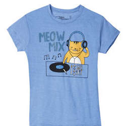 DJ Meow Mix Ladies Tee