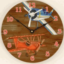 Child's Airplane Clock