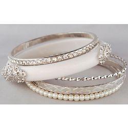 Stunning and Stylish 5 Piece Bracelet Set