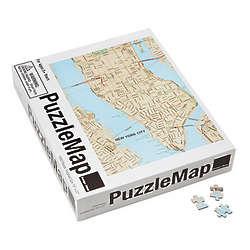 City Puzzle Map