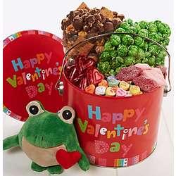 Frog Valentine Fun Pail