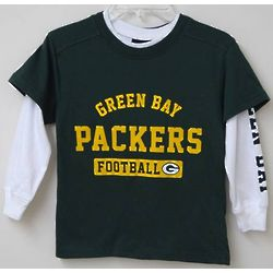 Boy's Green Bay Packers Combo Shirt Set