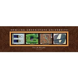 Personalized Bowling Green State University Architecture Print