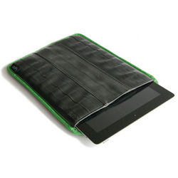 Upcycled Bicycle Tire iPad Sleeve