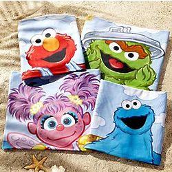 Personalized Sesame Street Micro-Fiber Beach Towel