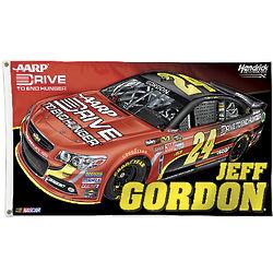 Jeff Gordon NASCAR 2-Sided Flag