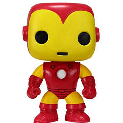 Iron Man Cartoon Bobble-Head