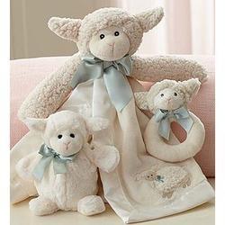 Baby's Lamby Snuggle Gift Set