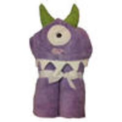 Purple Monster Hooded Towel