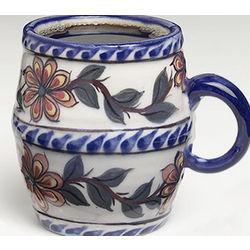 Handmade Guatemalan Floral Mug