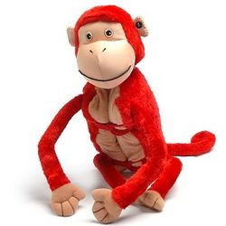 Personalized Zoobie Mashaka The Monkey Blanket and Toy