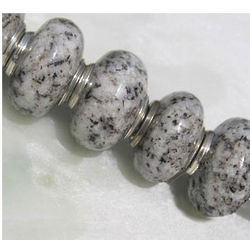 Fine Grey Granite New Hampshire Bead