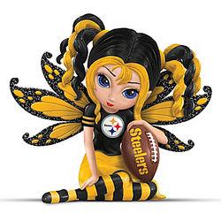 Pittsburgh Steelers Fairy Figurine