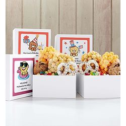 Personalized Big Day Snacks and Munchies Box