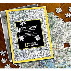 My Town Custom Map Puzzle