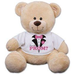 Prom? Personalized Tuxedo Teddy Bear