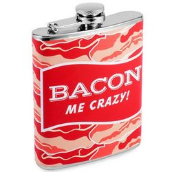 Bacon Me Crazy Hip Flask