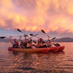 Sunset Kayaking Tour On Lake Tahoe for 1