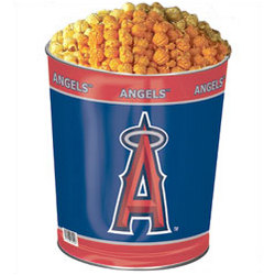 Anaheim Angels 3 Way Popcorn Gift Tin